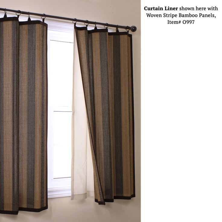 Insulating Blackout Curtain Panel Liner