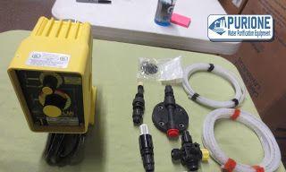 Dosing Pump LMI Milton Roy P123-358TI adalah pompa dosing kimia yang digunakan untuk kapasitas 0,79 liter per jam pada tekanan kerja hingga 10,3 bar - http://www.purione.com/2017/04/dosing-pump-lmi-milton-roy-p123-358ti.html