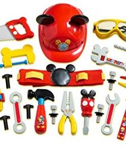 Mickey-Mouse-Deluxe-Tool-Set #hammering toys #pounding toys #kids toy #cheap…