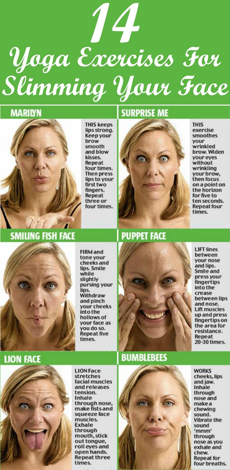 Ha ha it's my many faces that keep me young! Here we introduce you some simple yet effective facial exercises for a lean, sculpted and younger looking face.