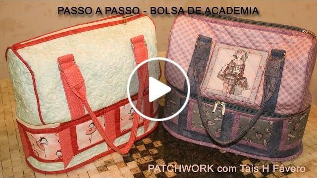 Neste vídeo a professora de patchwork da Facyl Casa dos Panos Tais H. Fávero, apresenta o passo a passo de uma bolsa para academia.