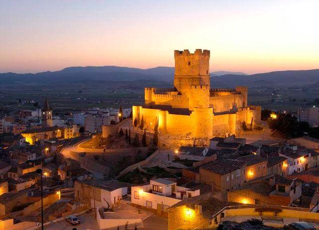 Castillo De La Atalaya Villena Alicante