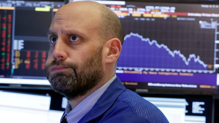 Dow dives nearly 1600 points as stocks drop then recovers a bit