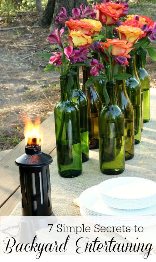 7 Simple Secrets to Backyard Entertaining #TIKIBrand