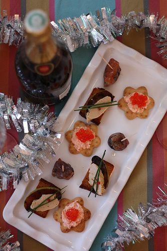 Tapas de fêtes recettes noel aperitif