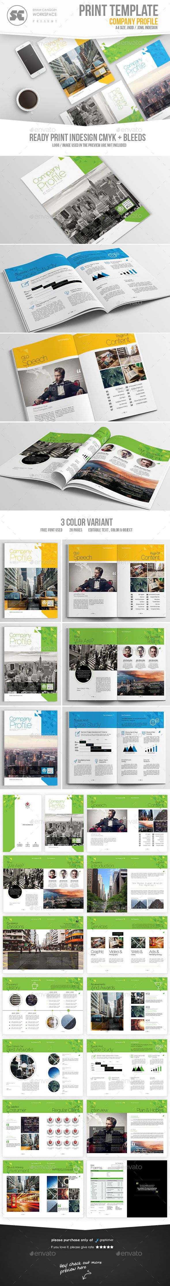 Company Profile — InDesign INDD #corporate #corporate profile • Available here → https://graphicriver.net/item/company-profile/17888463?ref=pxcr