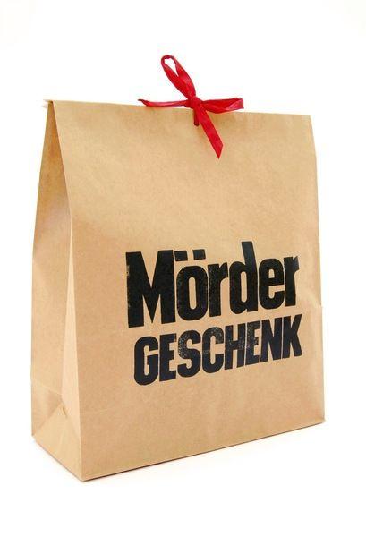 Geschenktüten - Geschenktüte - *MÖRDER Geschenk* - ein Designerstück von monas_DickyBird bei DaWanda