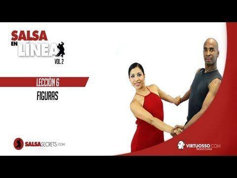 Clases de salsa en línea - figuras de salsa - YouTube