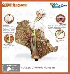 Descripción Pollera Tumba Hombre.