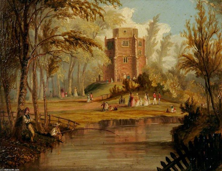 Red Mount, roi de Lynn, Norfolk de Thomas Baines (1820-1875, United Kingdom)