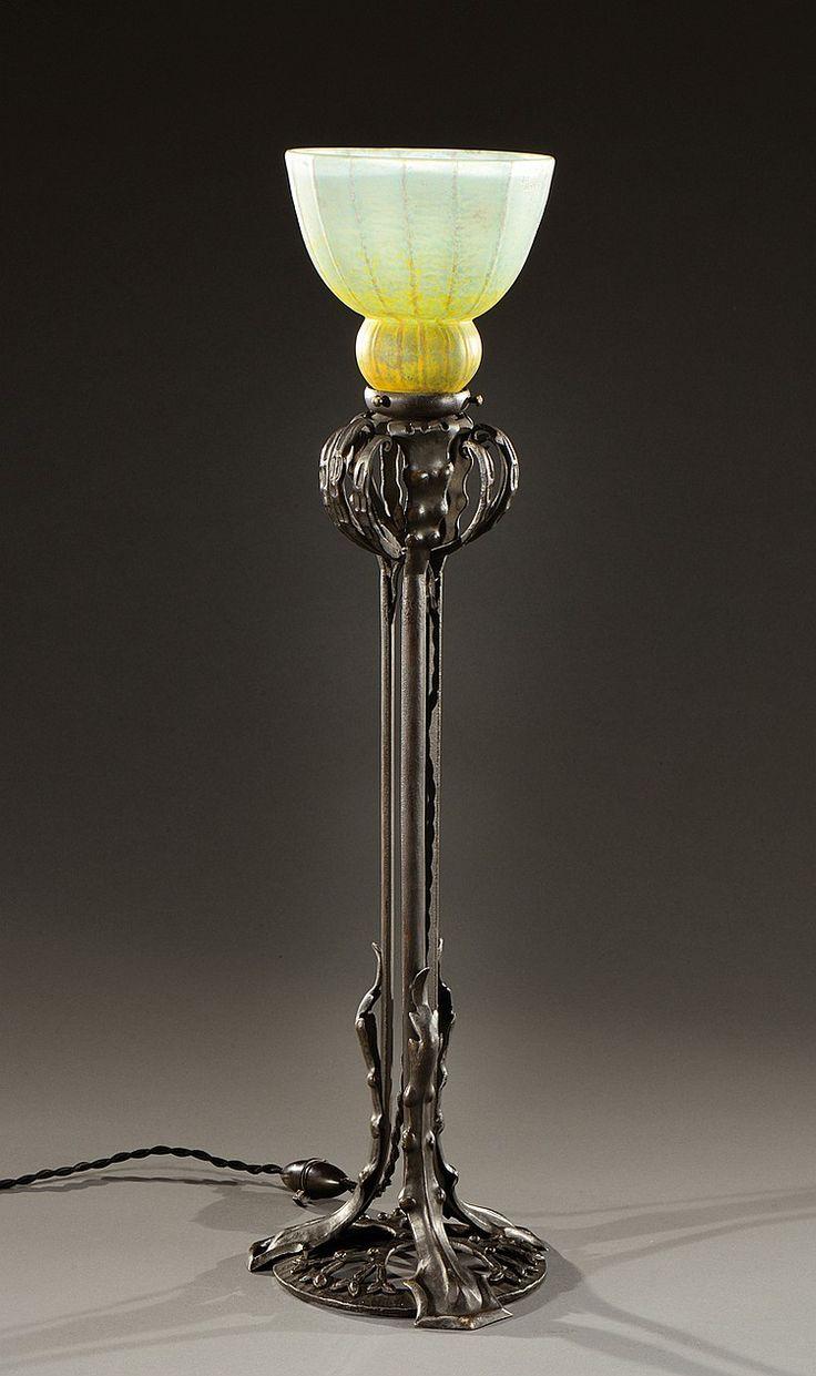 les 157 meilleures images propos de daum louis majorelle sur pinterest ench res vase en. Black Bedroom Furniture Sets. Home Design Ideas