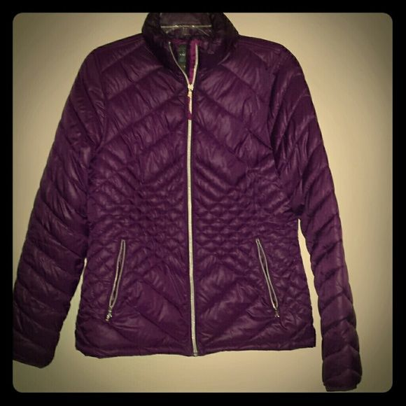 Puffy coat Tek Gear puffer coat, purple'ish-wine color - really cute. Great condition, worn a few times, size medium Tek Gear Jackets & Coats Puffers