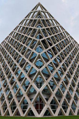 Atlas Building at the University of Wageningen (NL)