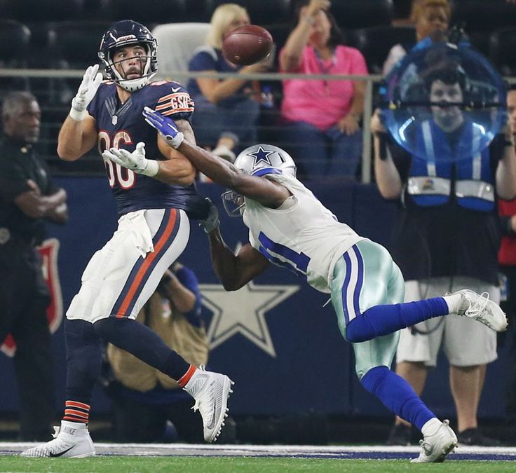 chicago bears tight end zach miller (86) catches a touchdown to make the score 2015 nfl