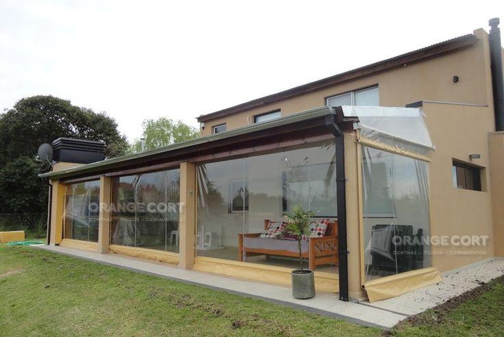 Cerramientos de pvc ideal quinchos galerias patios - Cerramientos casas ...
