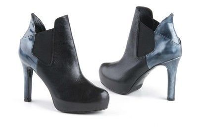 Lella Baldi black-grey ankle boots