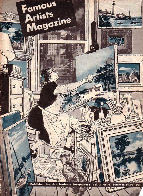 Albert Dorne - Famous Artist Magazine