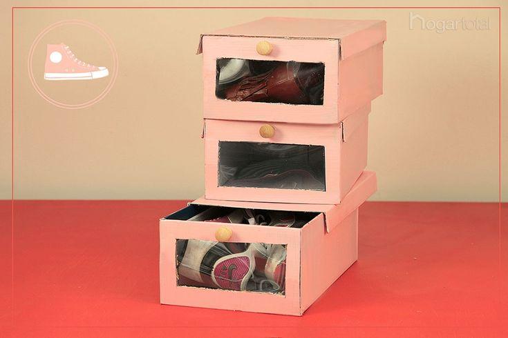 Crea un organizador de zapatos con tus propias manos zapatos - Organizador de zapatos ...