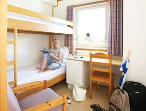 Live affordable and social at Bergen Hostel Montana, Norway.