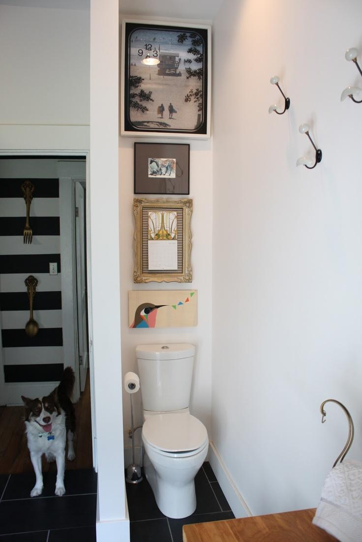Decoraci n cuadros en aseos y ba os puerta cuadros ba os for Decoracion aseos