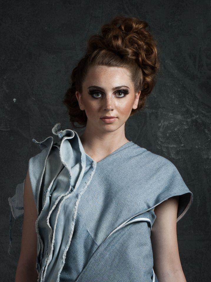 #eco #ecofriendly #ecofashion #canadiantuxedo #canadian #wateraid #catwalk #makeup #hair #fashion #model