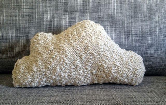 Lucette et Suzette: Le tuto du coussin nuage en tricot