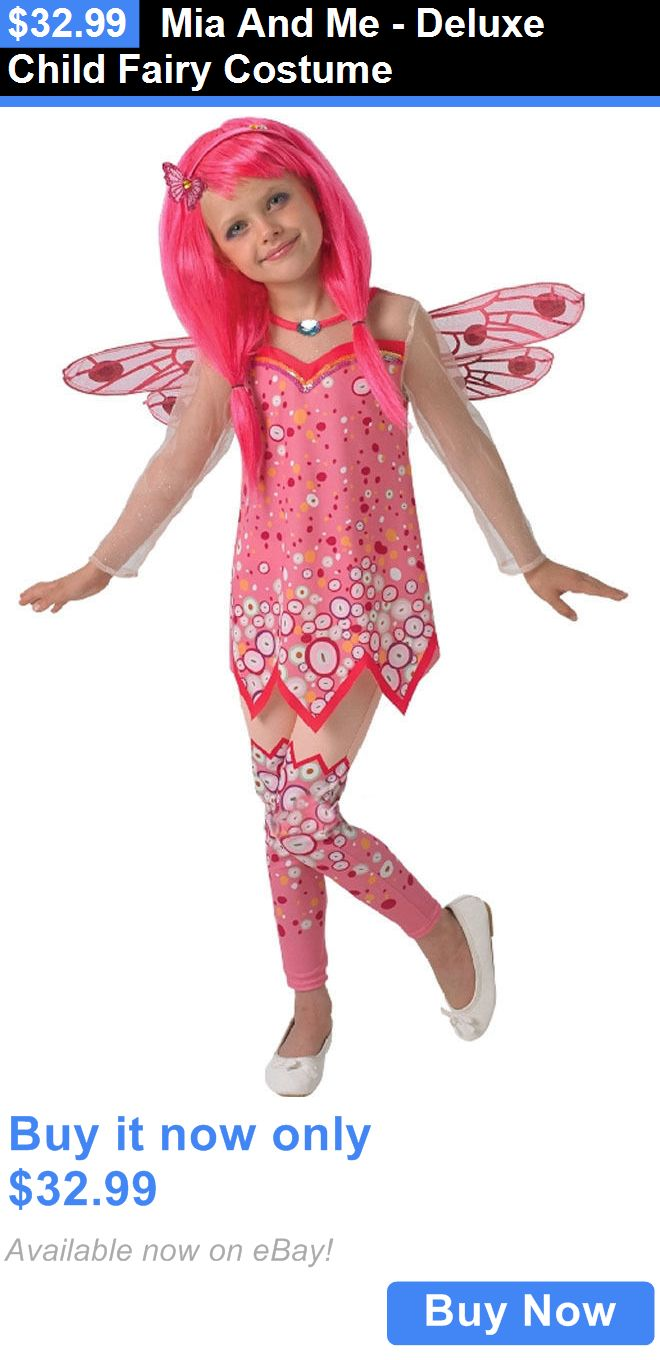 Halloween Costumes Kids: Mia And Me - Deluxe Child Fairy Costume BUY IT NOW ONLY: $32.99
