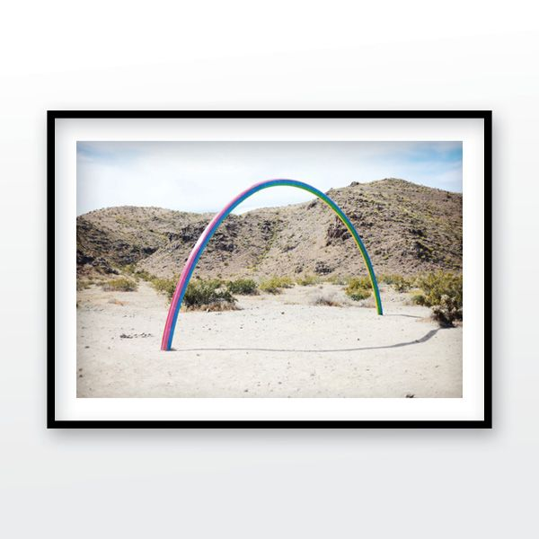 Dessert X Art Exhibit Lover S Rainbow In The Coachella Valley California Digital Download Photograph Rainbow Print Office Wall Art Wall Art Instant Download