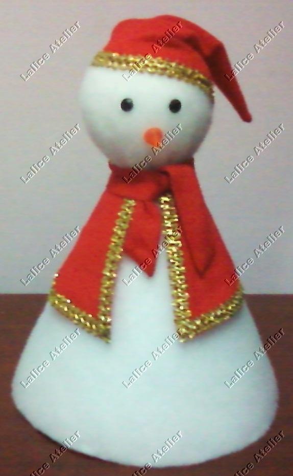 Boneco de Neve de Isopor. Tamanho: 20 x 26 cm. É preciso encomendar. #natal  #boneconeve #christmas