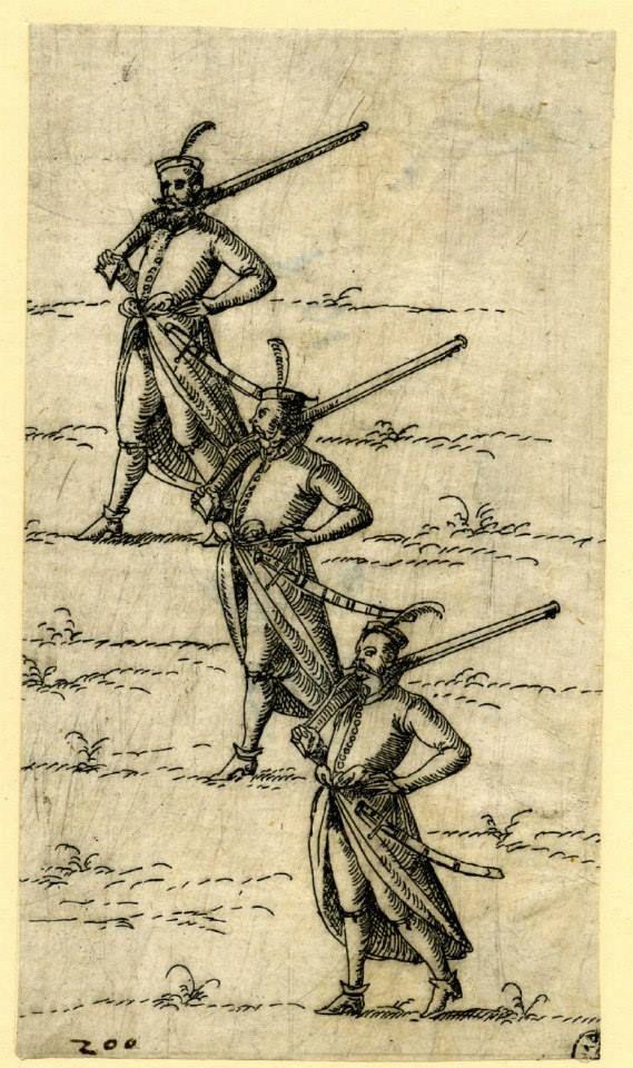 Hajducy, przełom XVI/XVII wieku