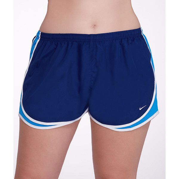 Nike Tempo Track Sport Shorts Plus Size ($32) ❤ liked on Polyvore featuring plus size women's fashion, plus size clothing, plus size activewear, activewear, women, nike, nike activewear, womens plus size activewear and sports activewear