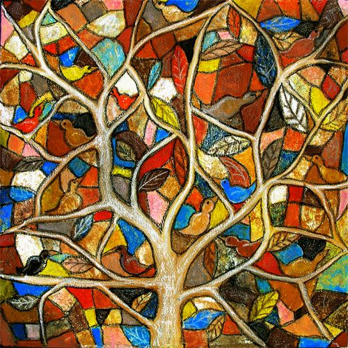 Tree: Google Image, Trees Art, Folk Art, Abstract Trees, Image Results, Art Trees, Folkart, Autumn Trees, Trees Quilts