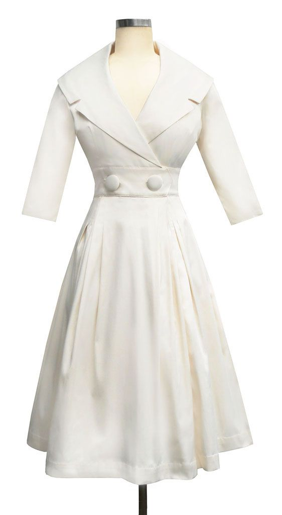 Pretty in White....Trashy Diva | Courtney Coat Dress