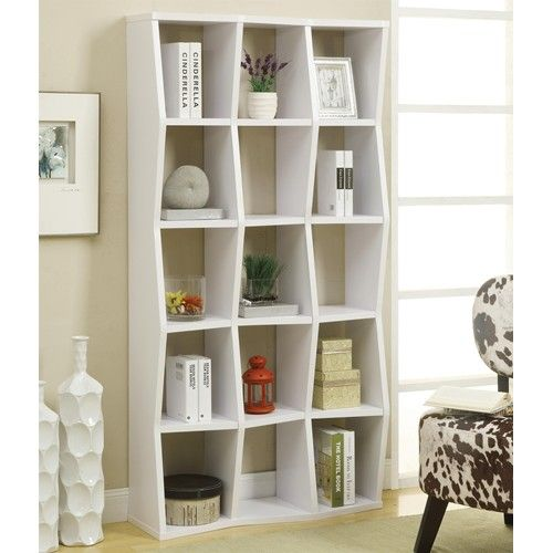 Contemporary Bookshelf with Asymmetrical Shelves - 151 Best Library Furnishings Images On Pinterest Bookcases