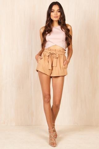 Stella Mini Shorts - Sundae Muse