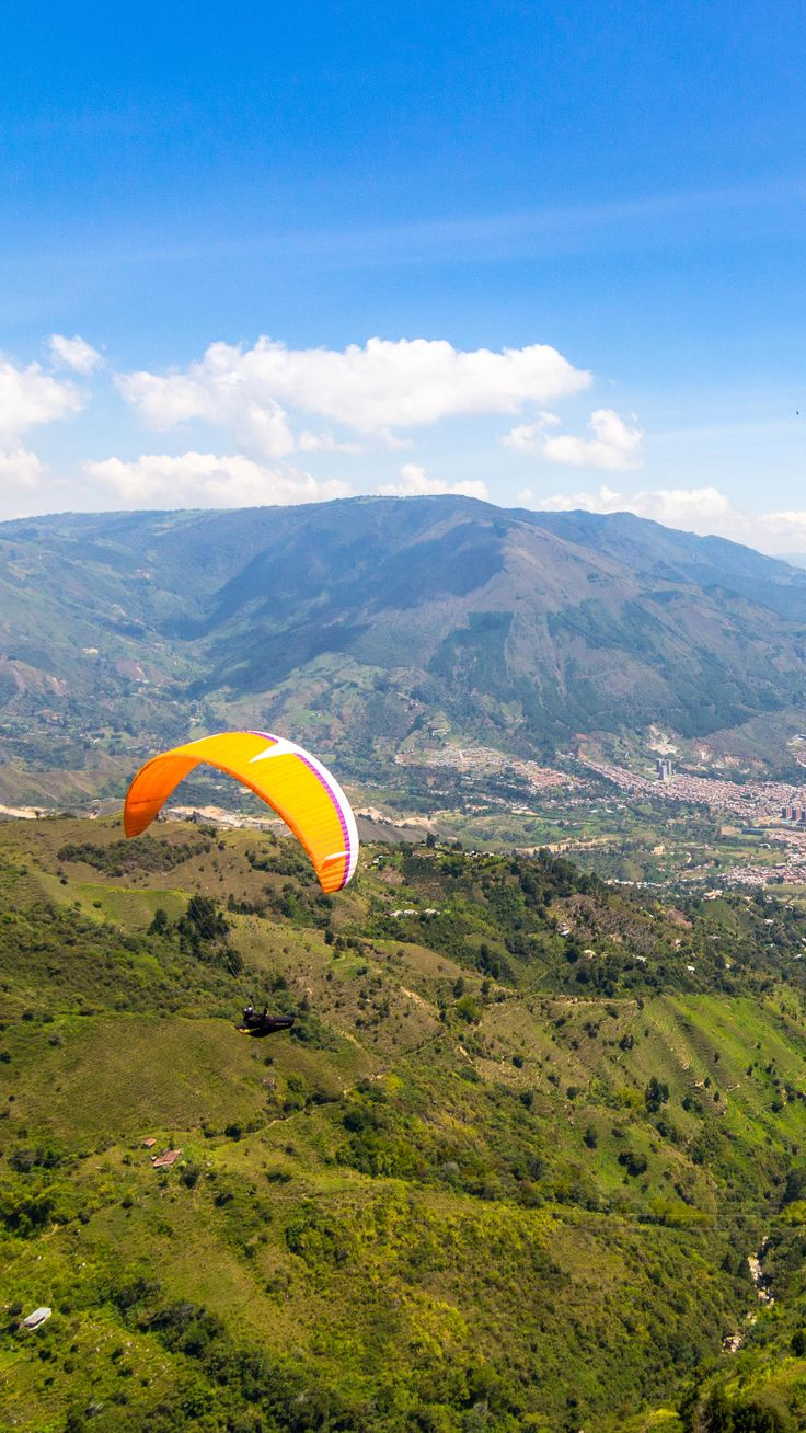 Paragliding in Medellin, Colombia. What a fantastic experience!