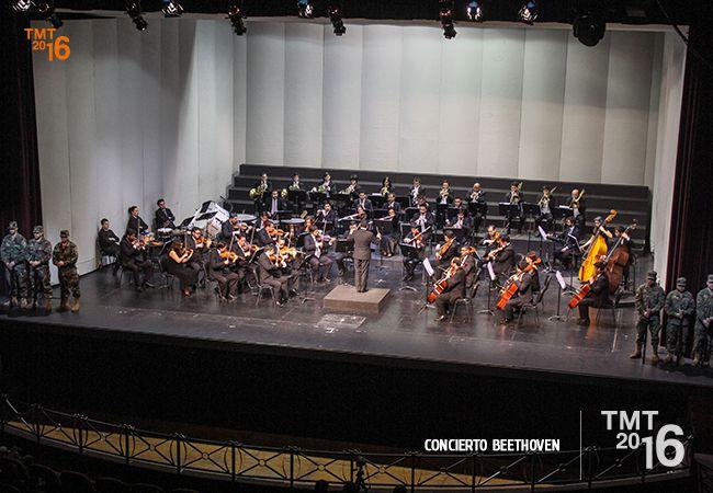Orquesta Filarmónica de Temuco, Concierto Beethoven, Coro TMT 2016