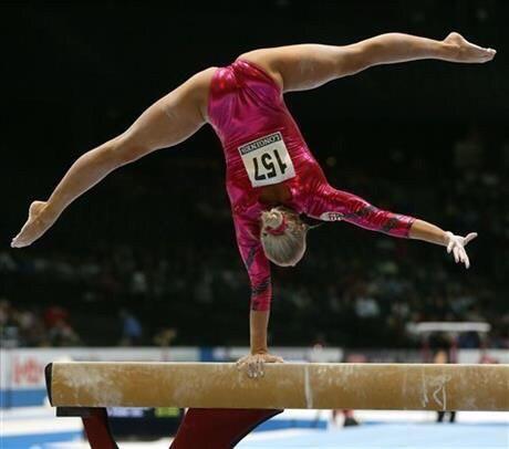 elite gymnastics balance beam