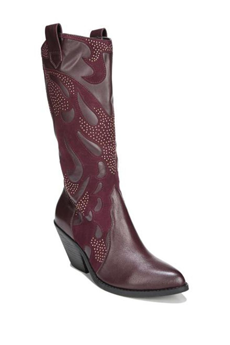 Axel Embellished Cowboy Boot by Carlos By Carlos Santana on @nordstrom_rack