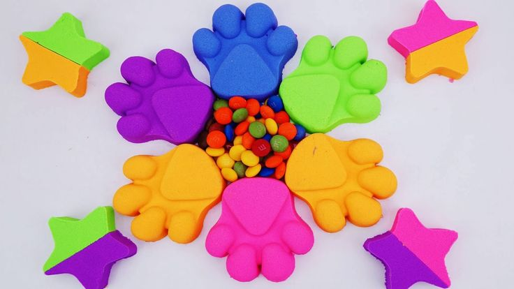 DIY Kinetic Sand Candy, Spidermen, Elsa, Pj masks, paw patrol Marvel Sup...