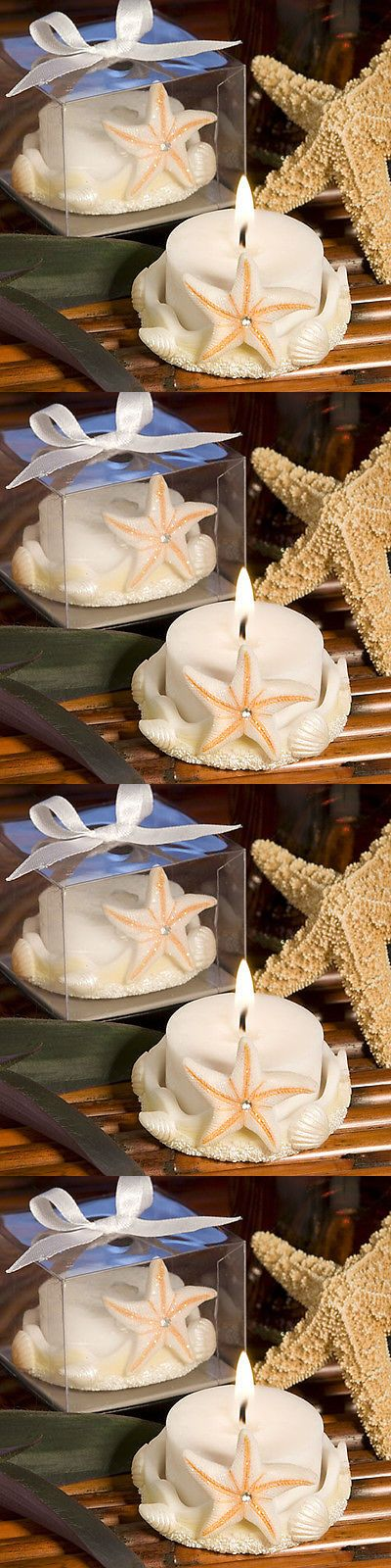 Favors and Party Bag Fillers 26385: 50 Starfish Design Candle Beach Theme Wedding Bridal Shower Bulk Favor Lot -> BUY IT NOW ONLY: $80.99 on eBay!