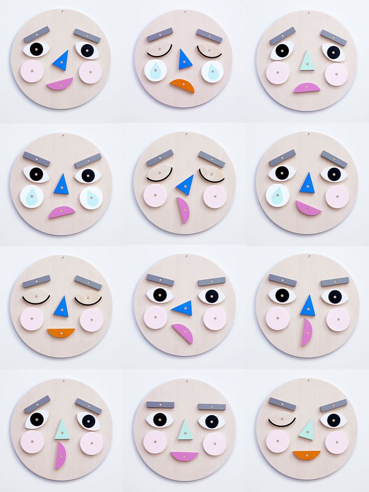Make A Face is a wooden toy with hundreds of expressions! A wonderful way to learn about & discuss emotions together. Turn & flip the wooden face pieces to express your emotion!