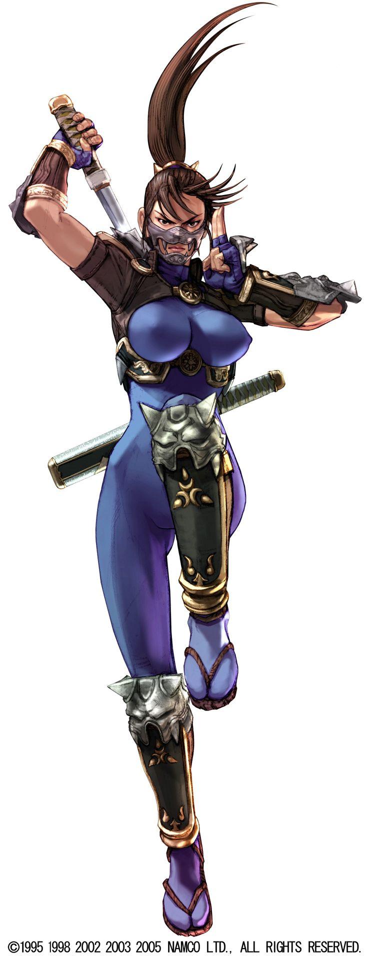 shinobi soul   Females, Namco, Soul Calibur, Ninja, Taki, Soul Calibur SCIII Taki ...