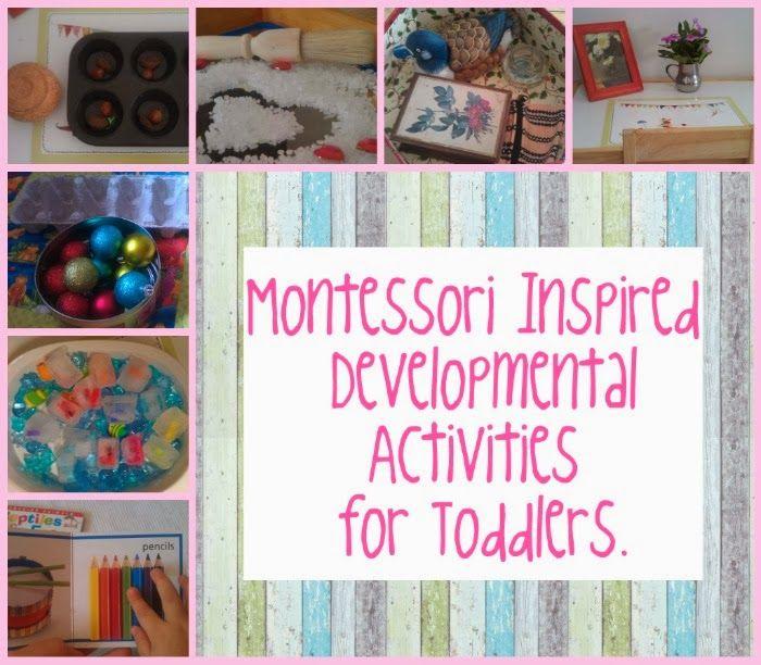 DIY Montessori Inspired Activities for Toddlers. | Montessori Nature