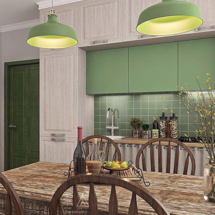 Прорабатывая интерьер кухни, мы не забываем извлечь максимум из полезного, но не всегда используемого пространства. В данном случае мы про верхние шкафы. ☝️ Размещая их высоко, можно задать большую глубину! Для хранения не часто используемой кухонной техники - то, что нужно!  #2artstudio
