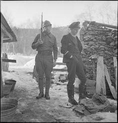 Narvik 1940  Un corps expéditionnaire composé des 6e et 27e demi-brigades de chasseurs alpins,puis d'un groupement de haute montagne en majorité composée d'anciens républicains espagnols, et de bataillons de chasseurs polonais y furent engagés, soit 24 500 soldats alliés contre 5 600 soldats allemands( des Gebirgsjägers en majorité) - pin by Paolo Marzioli