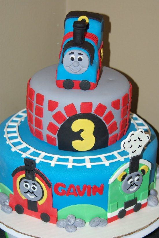 11 best images about Thomas The Train Birthday Cake on ...