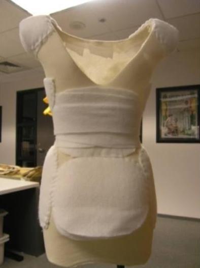 15 best Dress form padding images on Pinterest | Dress form ...