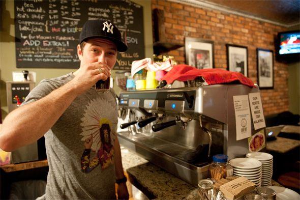 Lachlan Kinnaird of Jimmy's Coffee