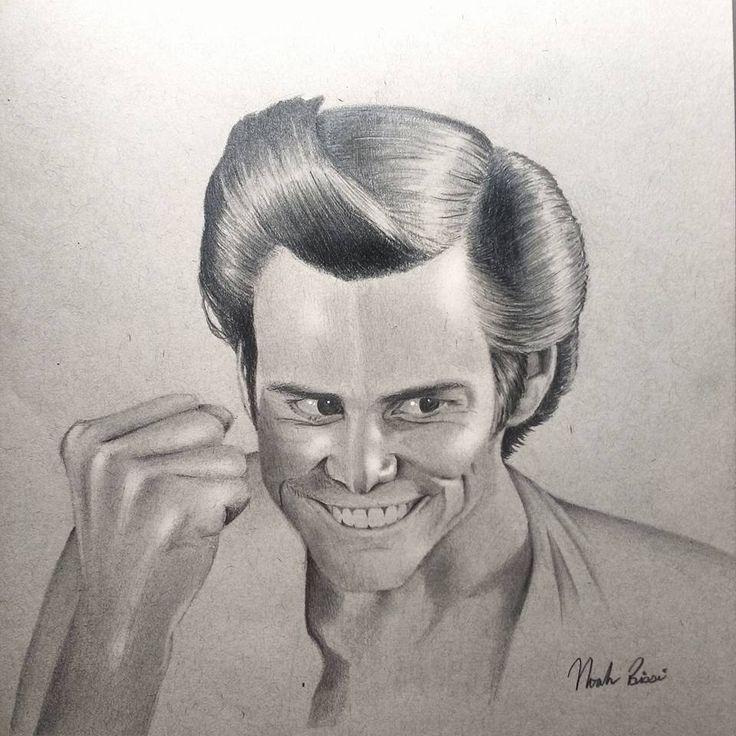 Ace Ventura - Jim Carrey by Noah Bissi